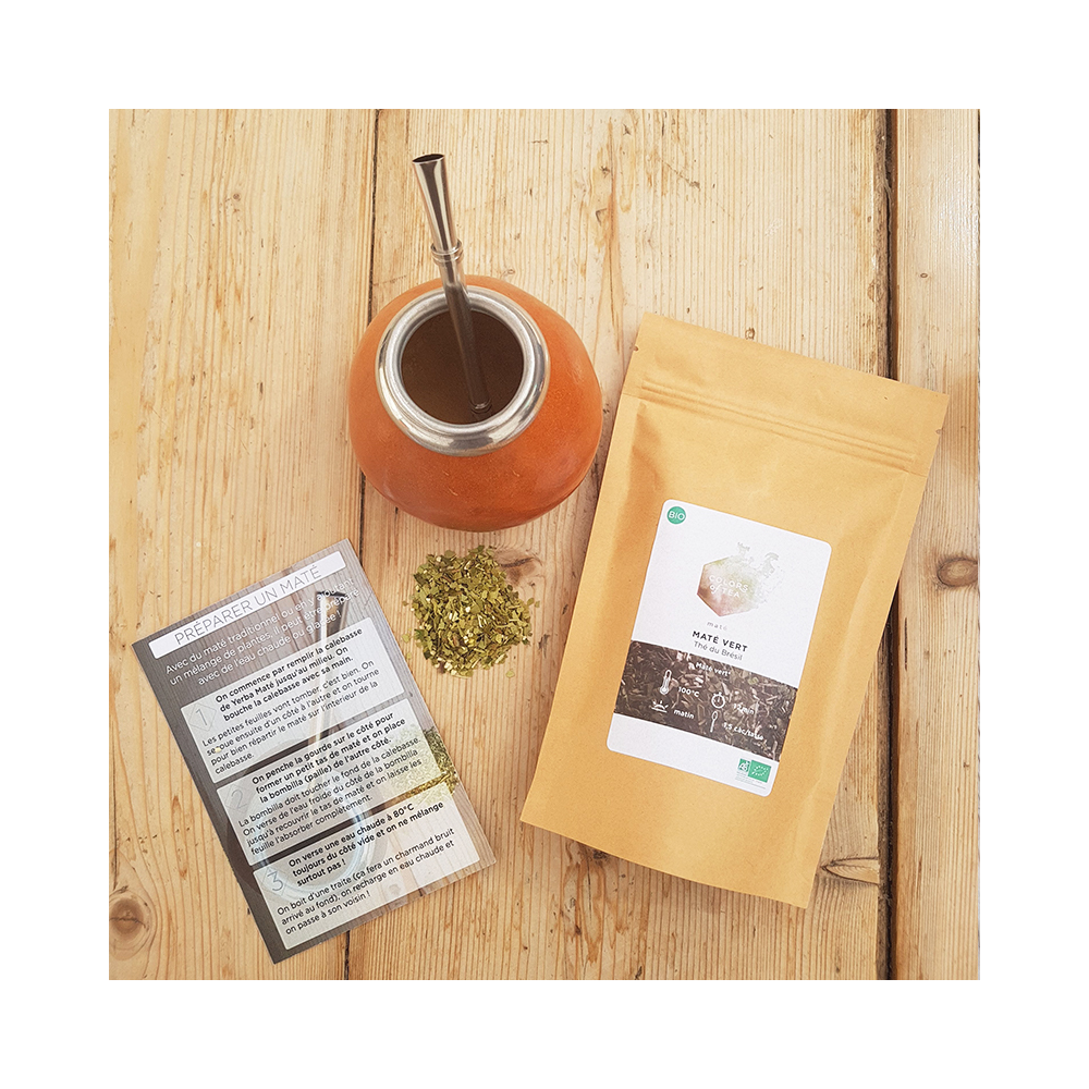 COFFRET MATÉ À composer Pour préparer un maté traditionnel Colors of Tea