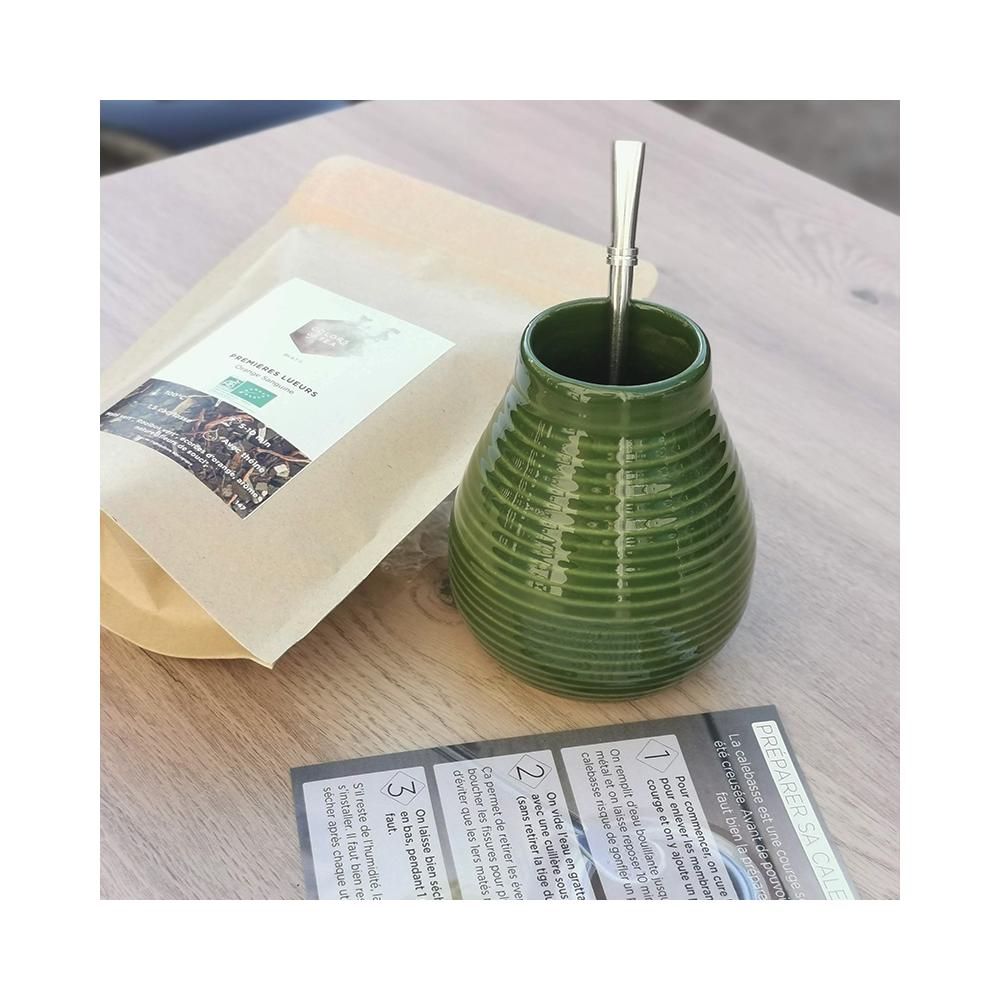Coffret Maté débutant Pour apprendre à préparer son maté Colors of Tea