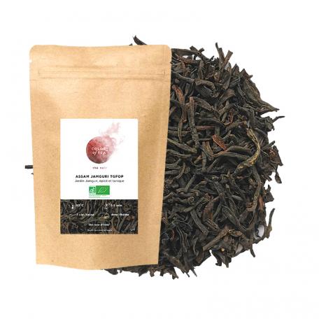 Thé noir du jardin de Jamguri, épicé et tanique