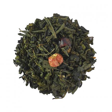 Blend de Oolong et thé vert floral - Fleur de sureau