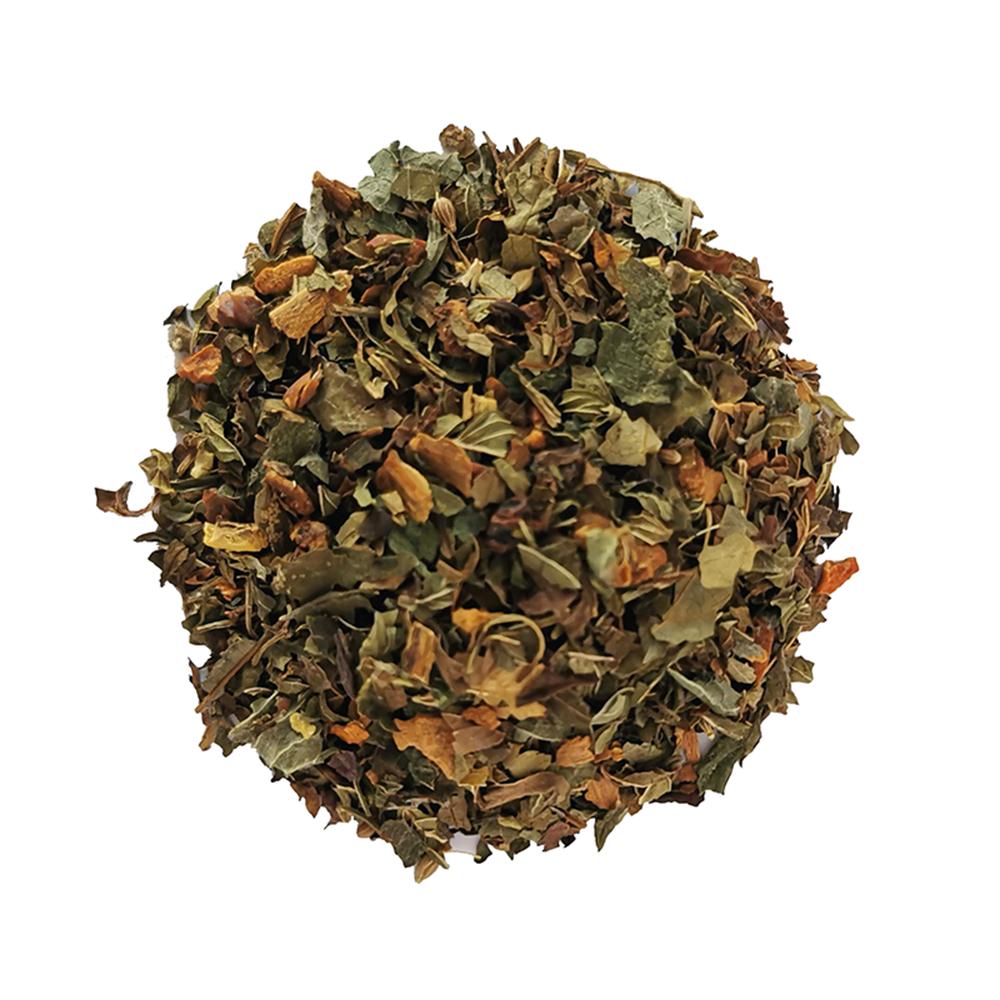 Tisane végétale - Menthe poivrée et menthe verte