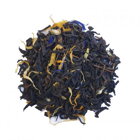 Thé noir fruité - Abricot, pêche et rhubarbe