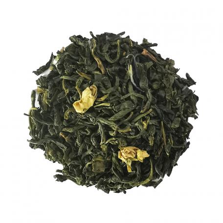 Thé vert végétal et floral - Citron, thym et pétales de fleurs