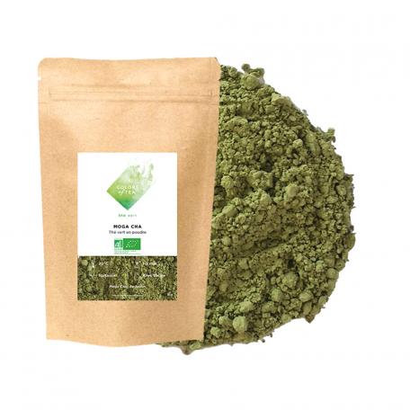 Thé vert en poudre - Variante du Matcha