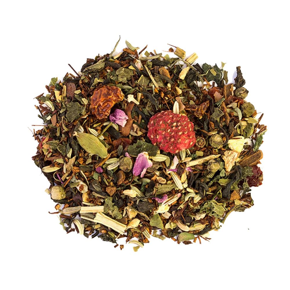 L'éveil des lionnes Mélange de Rooibos et Thés énergisants Colors of Tea