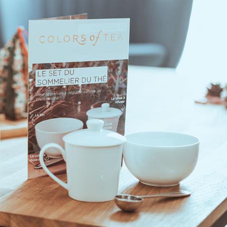 Le Set du Sommelier du Thé Colors of Tea