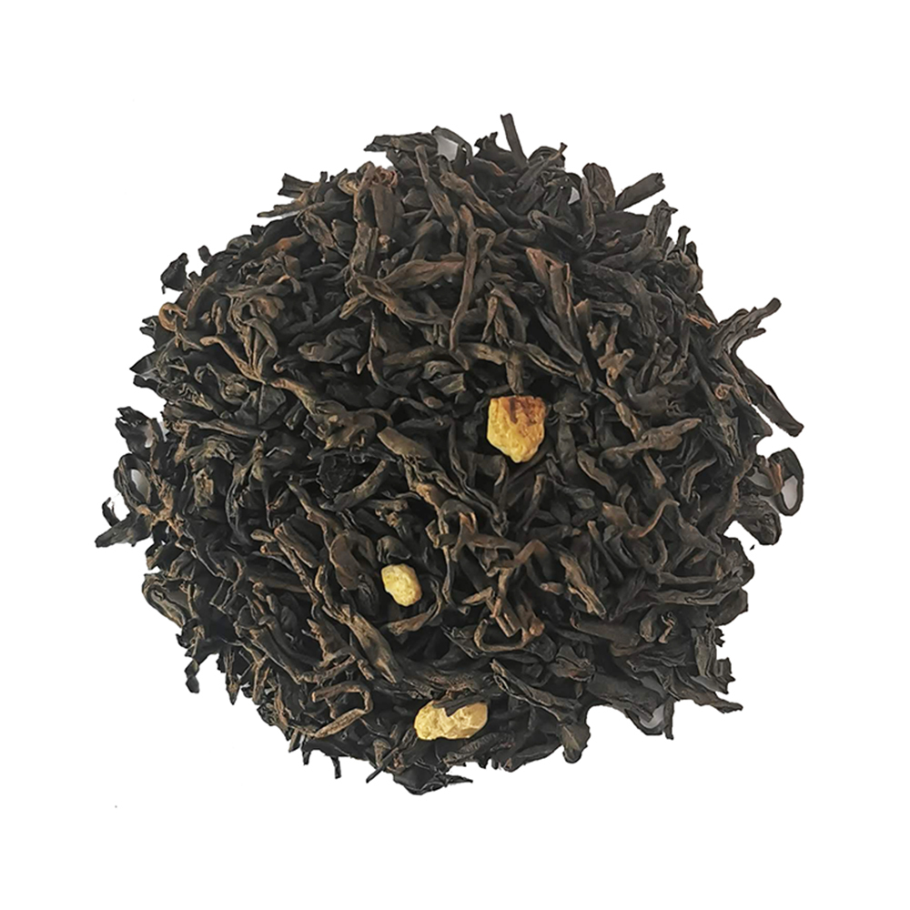 Pu Erh gourmand - Orange, chocolat et amande