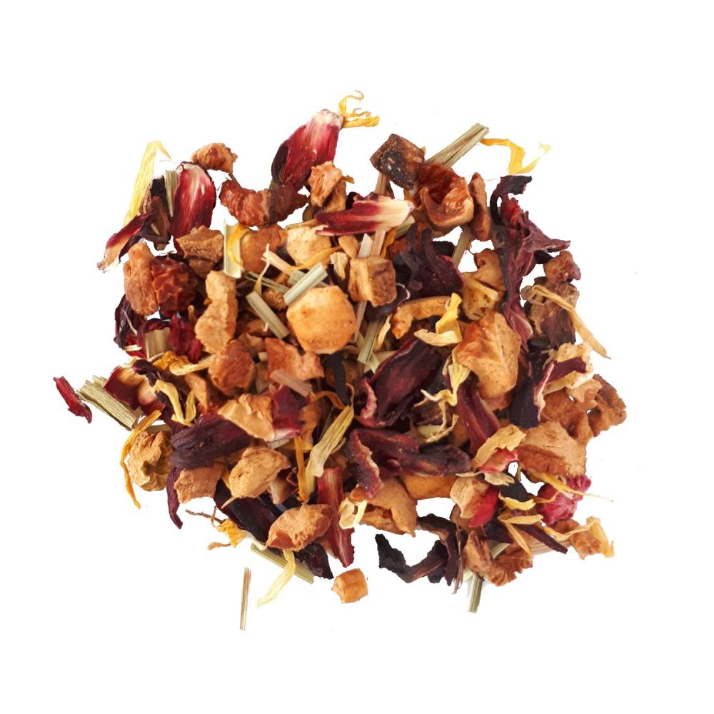 Sorbet Fruits Rouges Tisane fruitée - Framboise et hibiscus Colors of Tea