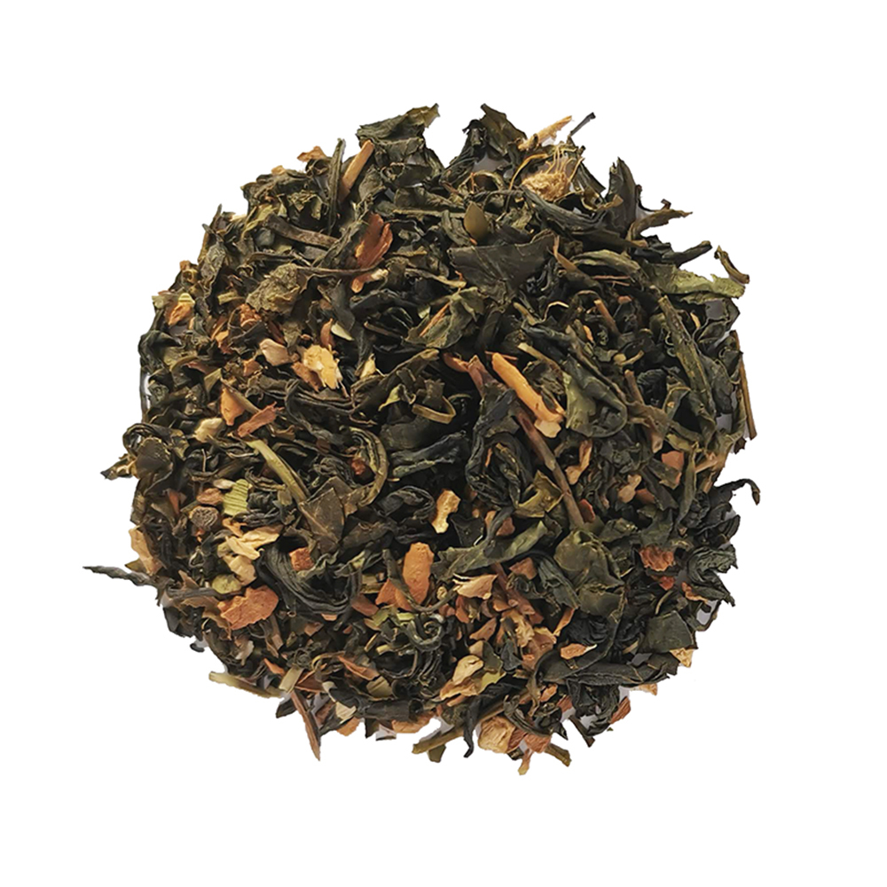 Green Chai Thé vert épicé - Épices indiennes Colors of Tea