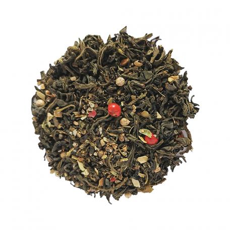 Thé vert floral - Jasmin, cardamome et coriandre