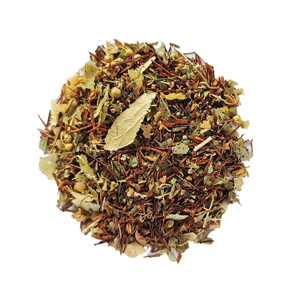 Lumière rouge - Rooibos végétal - Verveine et tilleul Colors of Tea