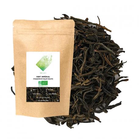 Thé vert du Sri Lanka - Charpenté et long en bouche