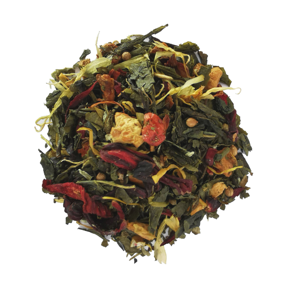 Thé vert fruité - Kalamansi et goyave