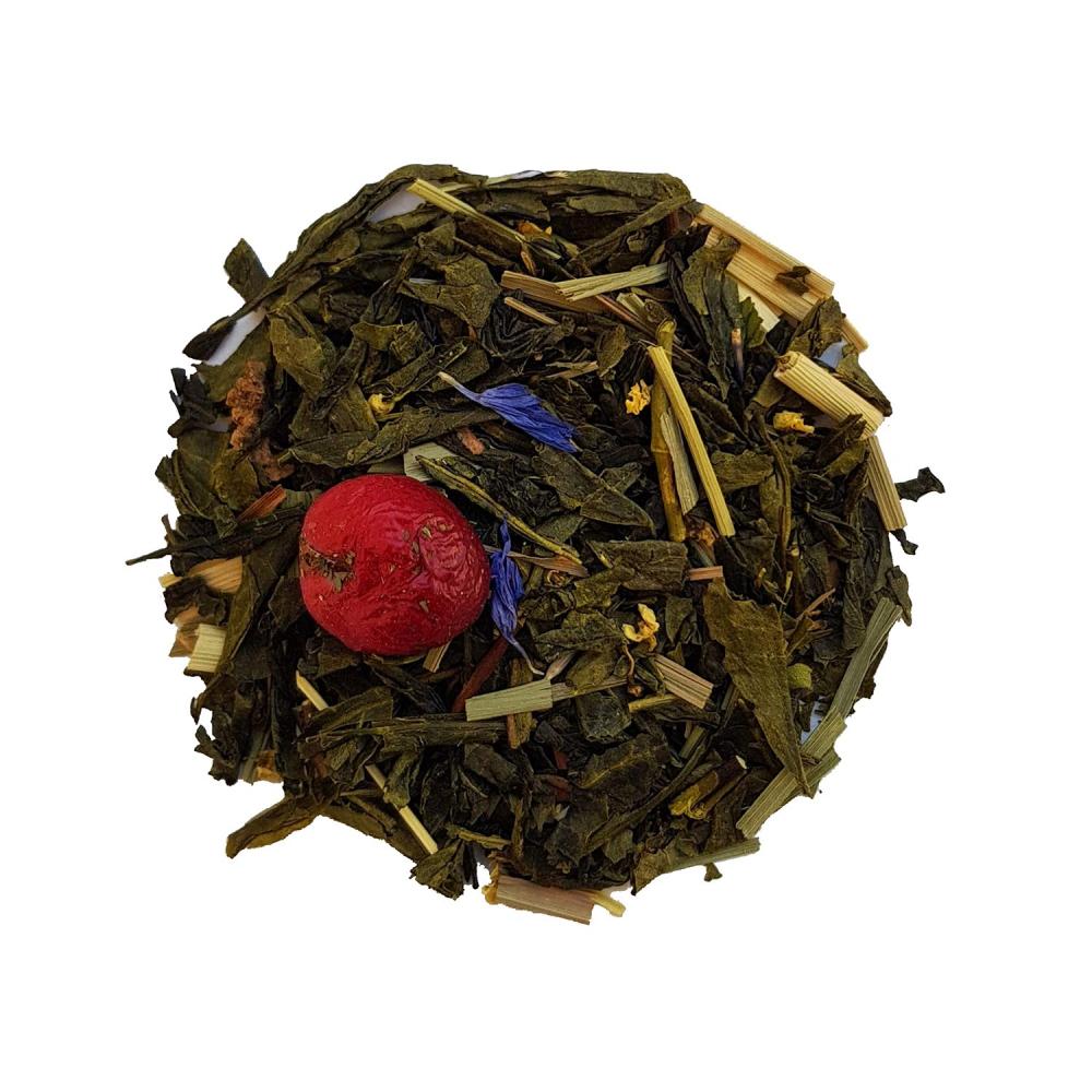 Thé vert floral et fruité - Fleur de sureau