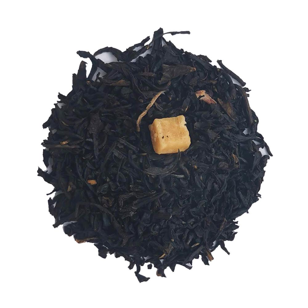 Thé noir gourmand - Crème pâtissière