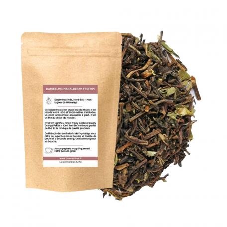 Thé noir Darjeeling- Boisé et fruité