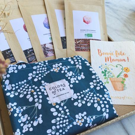 Cadeau pour la fête des mères, thés et tisanes BIO Colors of Tea
