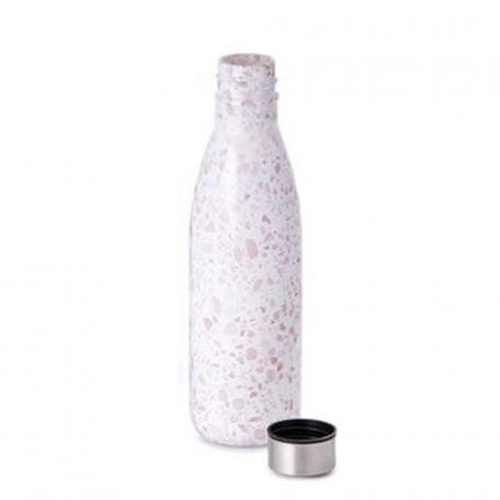 Bouteille en verre et bouchon inox 0,65 L