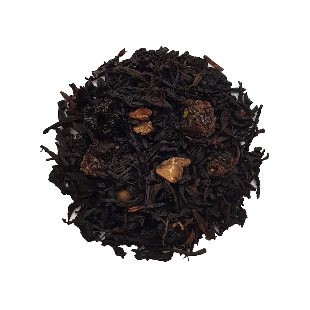 Thé noir gourmand - Noix