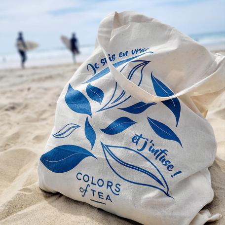 Tote bag Colors of Tea