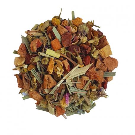Tisane épicée - Citronnelle et gingembre