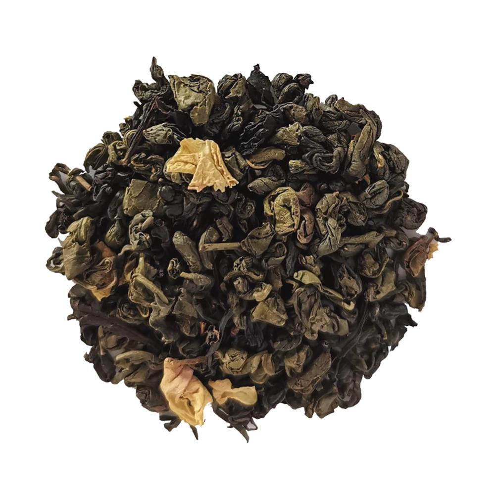 Thé vert floral - Fleur d'oranger, rose et menthe