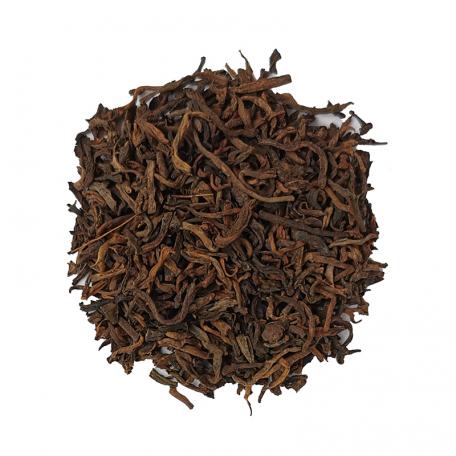 Thé noir Pu Erh du Yunnan, notes de sous-bois
