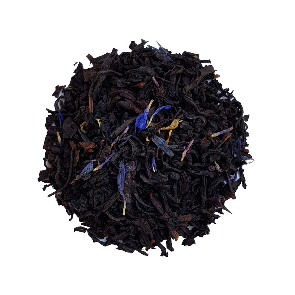Thé noir agrûme - Bergamote et fleurs de bleuet