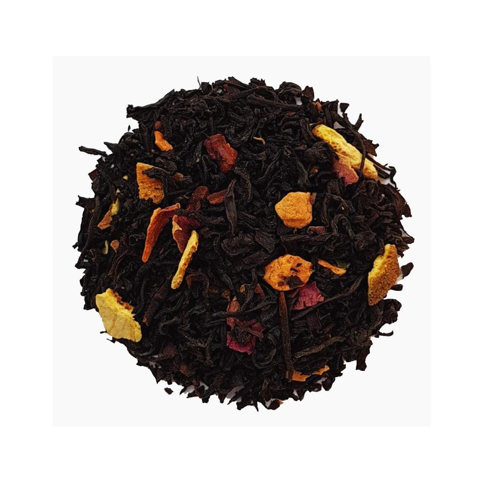 Thé de Noël Thé noir épicé - Cannelle et orange Colors of Tea