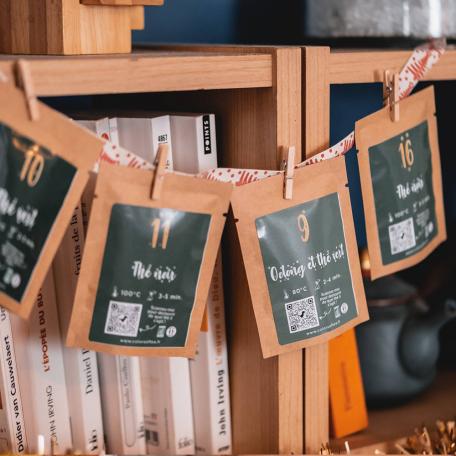 Calendrier de l'Avent DIY 2021 thés et/ou tisanes BIO Colors of Tea
