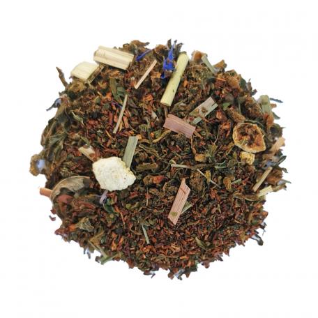 Rooibos BIO au chanvre CBD - Orange colors of tea