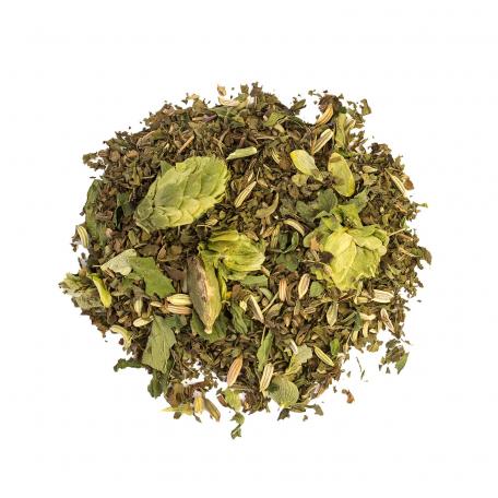 Tisane végétale favorisant la digestion