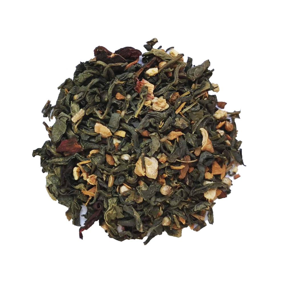 Magie dans l'air - Thé vert épices et agrumes Colors of Tea
