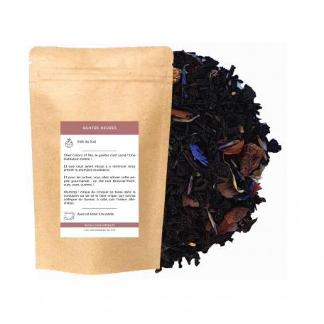 Thé noir gourmand - Brownie poire