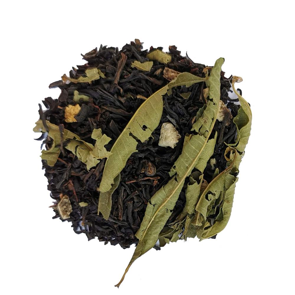 Pleine lune Mélange de thé noir nature et fumé agrûme - Citron et verveine Colors of Tea