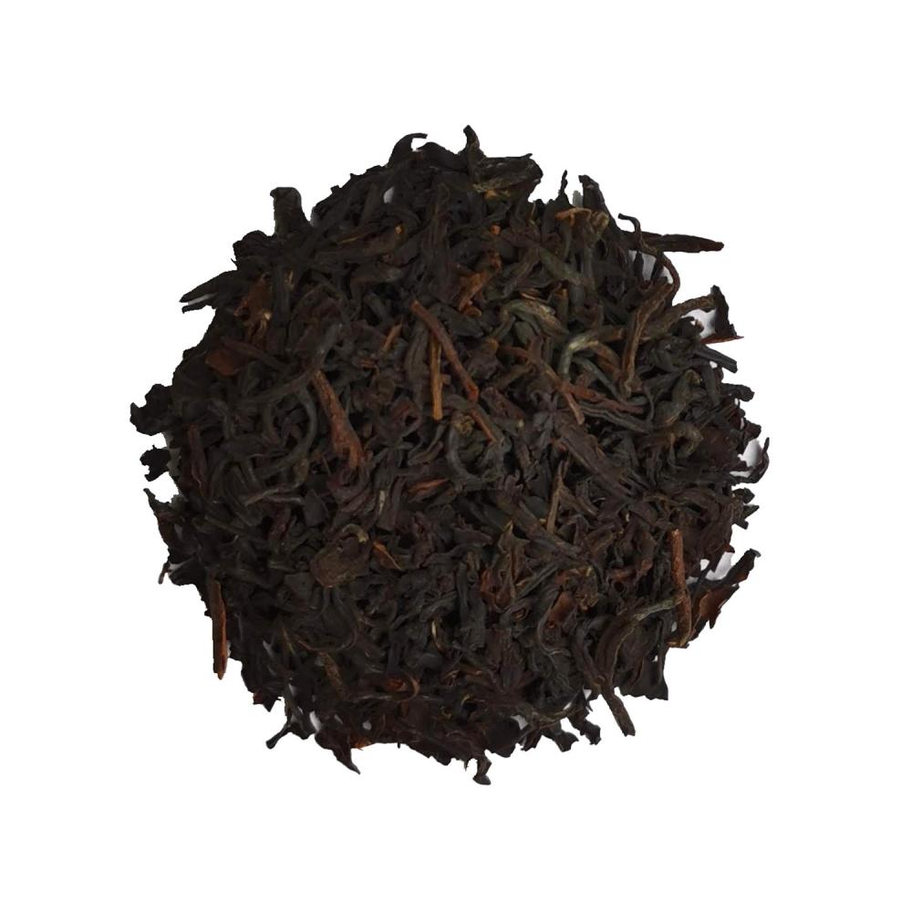 Thé noir en grandes feuilles légèrement aromatiques