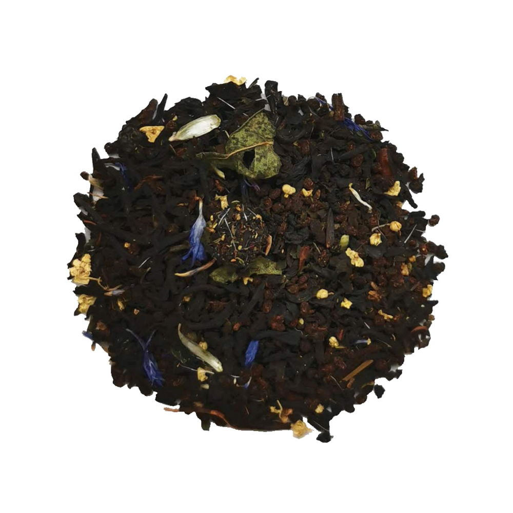 Thé noir fruits rouges - Myrtille
