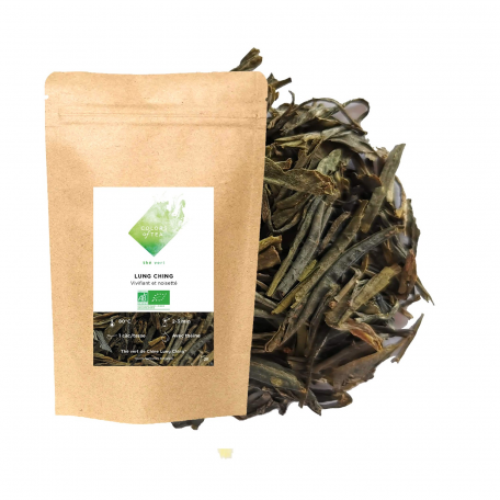 Thé vert vivifiant et noisetté