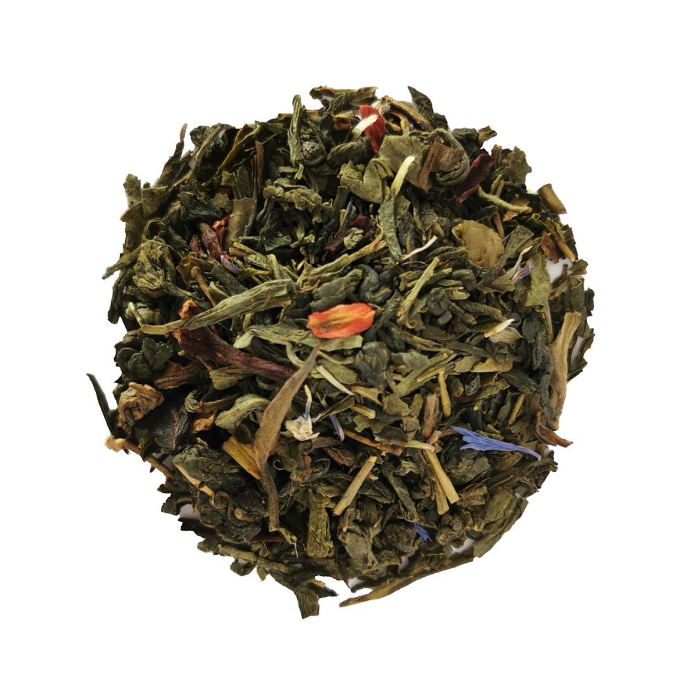 Blend de Oolong, thé vert et blanc fruité