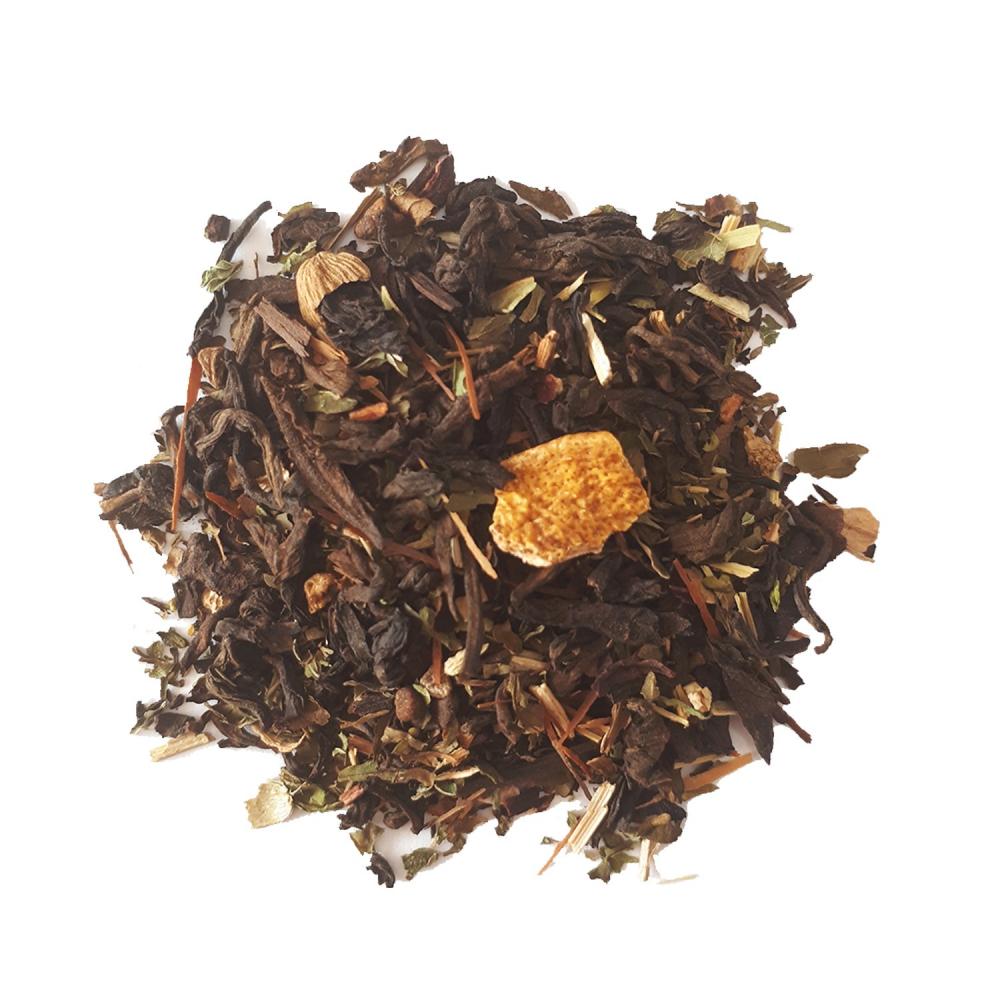 De plume en Plume Pu Erh végétal - Équilibre et légèreté Colors of Tea