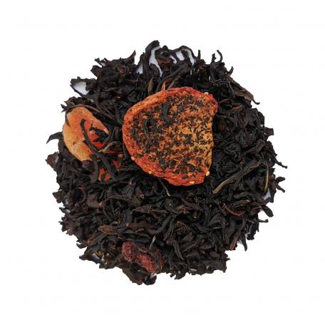 Thé noir fruits rouges - Fraise et framboise