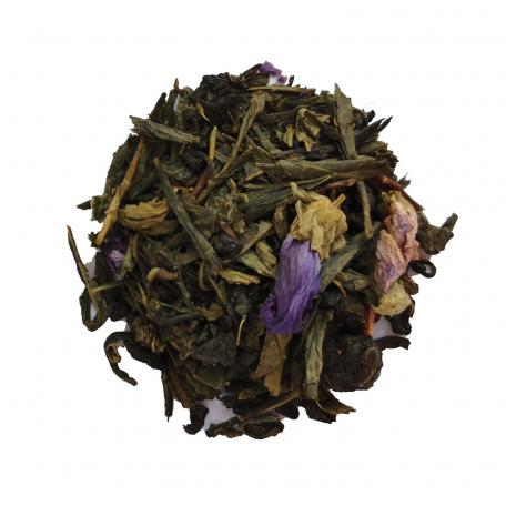 Mélange de Oolong et de Thé Vert floral - Violette