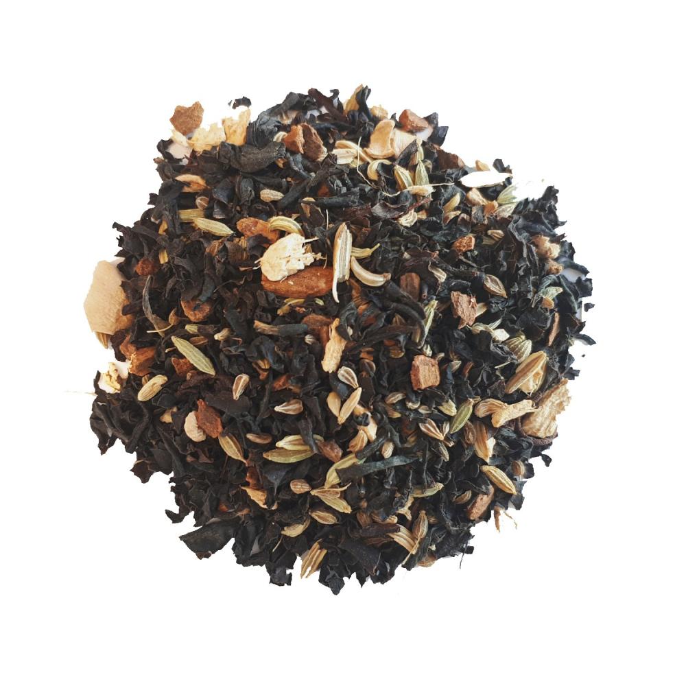 Masala Chai Thé noir épicé - Mélange d'épices Colors of Tea