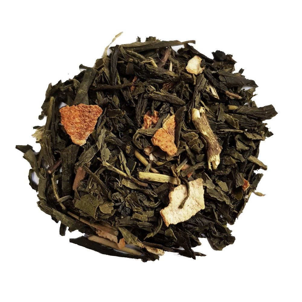 Thé vert Earl Grey agrûme - Bergamote
