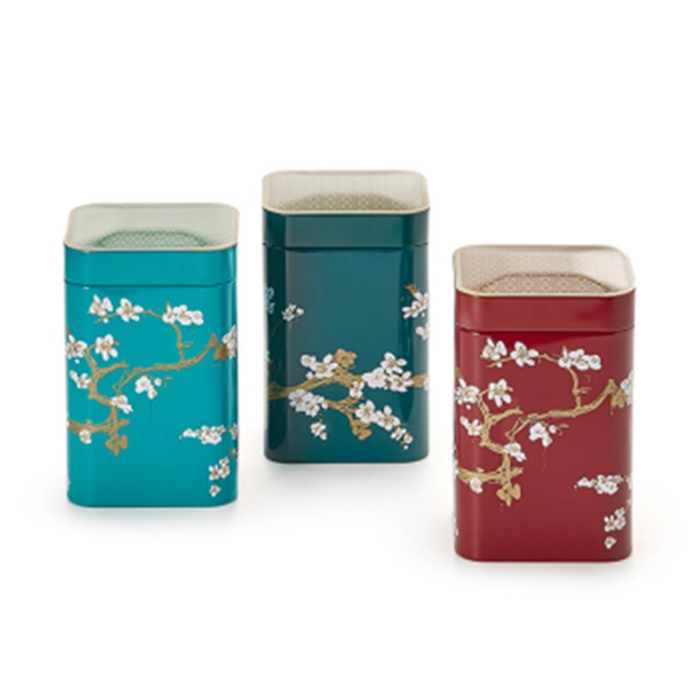 Boîte cerisier japonais 50g à 100g de thé ou tisane Colors of Tea