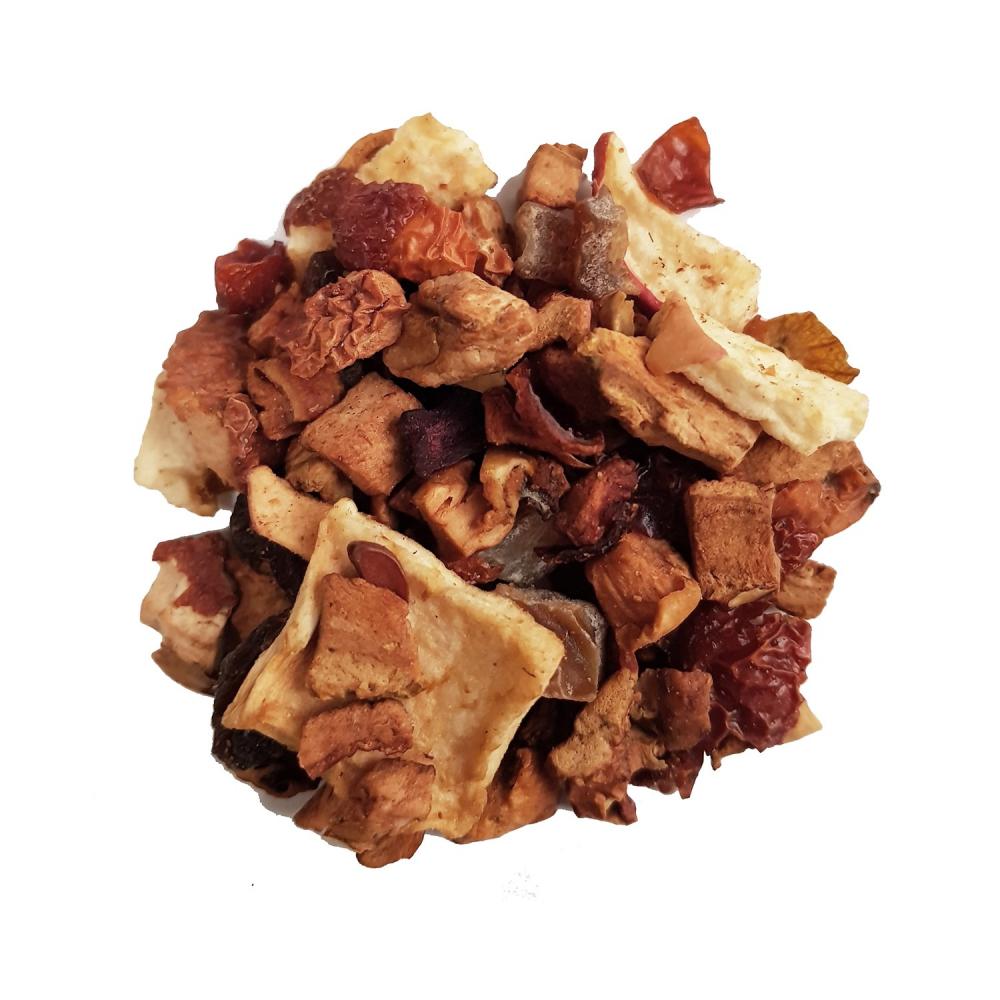 Tisane gourmande - Pomme et caramel