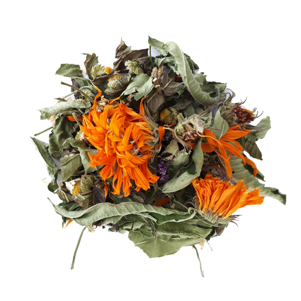 Inspiration Tisane française des Jardins de la Fortune - Pour se donner de l'allant Colors of Tea