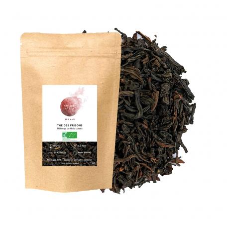 Mélange de thés noirs corsé