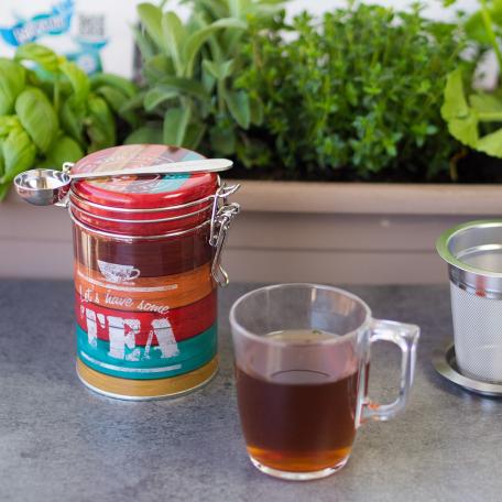 50g à 100g de thé ou tisane