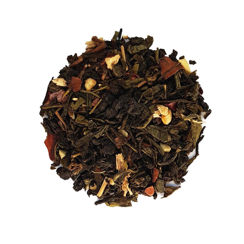 Toquade gourmande Mélange de Oolong et de thé vert pate d'amande et noisette Colors of Tea